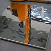Heilbronn, Bildungscampus, aim (Detlef Schobert) Tags: germany campus grid education panel steel ceiling decke aim dieter atrium partner schwarz stainless heilbronn gluck treppenhaus glück rostfrei edelstahl stiftung paneele exyd rasterdecke exydm bildungscampus