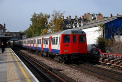 London, West Hampstead 30.10.2009 (The STB) Tags: london metro tube londonunderground metropolitanline lul westhampstead astock a60stock a62stock