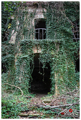(No Stone Unturned Photography) Tags: brick abandoned woods louisiana exterior farm ivy prison pea shreveport 1905 urbex penal