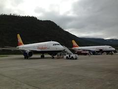Druk airline, Paro, Bhutan!
