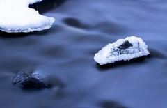 Blue current (jarnasen) Tags: longexposure blue winter snow ice nature water creek landscape flow nikon rocks stream sweden outdoor stones schweden tripod natur smooth january nopeople le nordic sverige landschaft winterscape landskap frosen ndfilter riverscape stjrnorp naturfoto nd1000 leefilters sigma50150mmf28 d7100 lngexponering bigstopper jarnasen stjrnorpravinen jrnsen