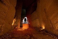 Carrière Des Maudits (UrbexGround) Tags: urban abandoned mine exploration quarry urbex urbexground