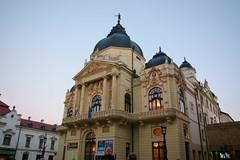 National Theatre of Pécs. Pécs (Hungary) (Raquel Soto P.) Tags: trip detail teatro opera hungary erasmus theatre national nacional pécs esn hungría