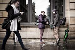 Beanie and Brolly (stephen cosh) Tags: street leica people scotland unitedkingdom glasgow streetphotography urbanlife stephencosh leicam240 mtyp240