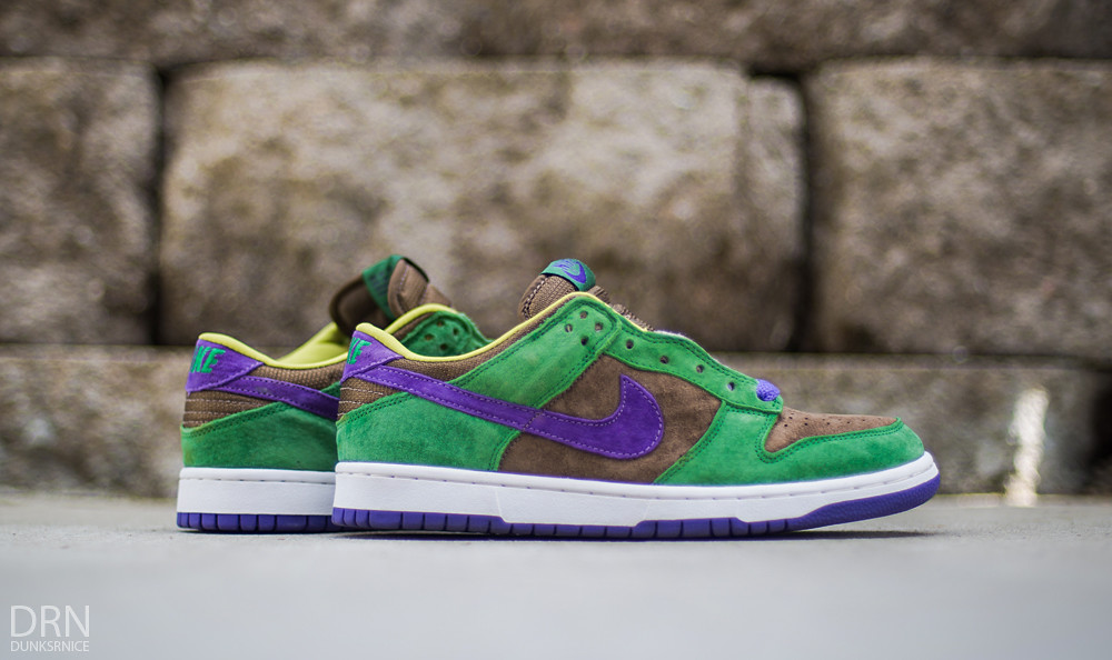 best sneakers b0294 438c8 ... get 2001 veneer dunk low pro b quotugly duckingquot pack dunksrnice  tags nike dunk low viotech