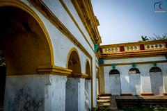 Razbari, Dinajpur (arifmahamood) Tags: flowers canon temple interestingness bravo front explore monks page fp bangladesh dinajpur 6d 24105 doi nohdr razbari