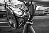 Rainy SalaBiKE - Light   ///   SalaBiKE Lluviosa - Faro (Walimai.photo) Tags: light bw white black byn blanco luz bike bicycle branco faro lumix noir negro bicicleta preto panasonic explore bici salamanca blanc lx5