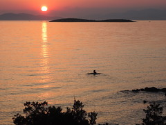 Vouliagmeni night-classic sunset... (spicros78) Tags: hello sea summer sun night relax nikon time athens explore greece kavouri καβουρι
