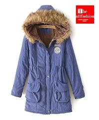 CJ-0010 – เสื้อแจ็คเก็ตกันหนาวผู้หญิงภายในบุขนแกะนุ่มเบาอบอุ่นมีหมวกฮู้ดพร้อมขนเฟอร์ฟูนุ่ม