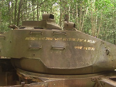Relic America Tank from Vietnam War