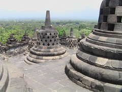 View Down From Borobudur