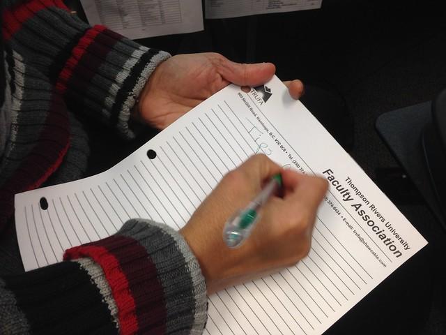 Taking Notes....