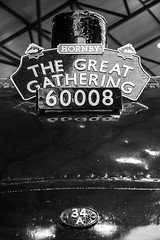 """Dwight D Eisenhower"" (andyrousephotography) Tags: york museum train br pacific engine railway loco steam locomotive a4 nrm nationalrailwaymuseum preservation liner steamloco eos5d dwightdeisenhower 4496 thegreatgathering 60008 5dmkiii 5d3 mallard75th"
