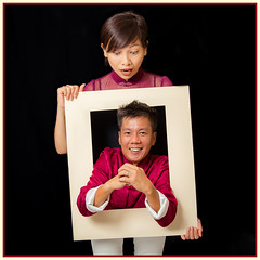CNY Wishes from Within (Jeffrey.Teo) Tags: new family red out fun effects idea 3d year chinese creative chinesenewyear pop cny frame jeffrey ideas potraits popout gongxifachai jeffreyteo gongheifattchoy woonch