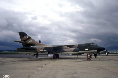 36th TFW  Douglas EB-66C Destroyer 54-0465