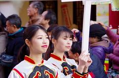 Chinese girls (kana hata) Tags: street girls people festival japan chinatown chinese parade yokohama