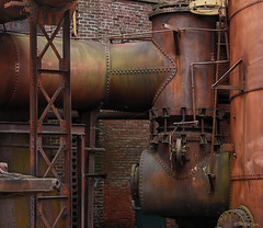 Sloss-15 (JBRazza Photography) Tags: decay steel rust brick abandoned iron pipes factory industry orange red razza jbrazza johnrazza