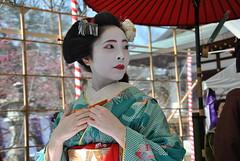 Baikasai - Kitano Tenmangu (Blue_no_shashin) Tags: tea maiko geisha kitano tenmangu baikasai