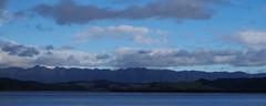 KohuKohu 1 (Markj9035) Tags: sunset sea newzealand lake ferry coast lakes windswept coastline northland ahipara northlands oponomi