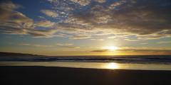 Ninety Mile Beach 3 (Markj9035) Tags: ocean sunset sea reflection beach reflections waves northland 90milebeach ninetymilebeach northlands