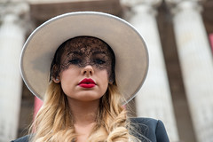 Fashion Week (dprezat) Tags: street portrait people woman paris mannequin girl beauty fashion model nikon collection hautecouture chanel mode d800 fashionweek défilé prêtàporter semainedelamode nikond800