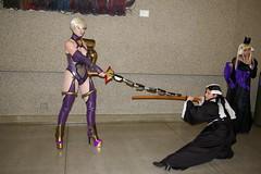 1492 - Sakuracon 2006 (Photography by J Krolak) Tags: costume cosplay ivy masquerade soulcalibur sakuracon sakuracon2006 ivyvalentine