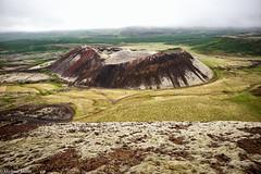 Grbrkarfell (michael.mu) Tags: leica m240 superelmarm21mmf34asph 21mm iceland volcano crater landscape grbrkarhraun grbrk grbrkarfell bifrst colorefexpro lr5