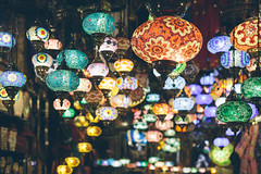 Granada, Spain - Lanterns (Regan Gilder) Tags: colour lamp canon lights spain europe bright eu alhambra granada lanterns lantern colourful andalusia espania luminate canoneos5dmarkiii