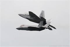 "Lockheed Martin F-22A ""Raptor"" (DaveChapman ""If it flies,I shoot it"") Tags: usa flying fighter military fast raptor f22 combat usaf fairford riat militaryaircraft thrustvector lockheedmartinf22raptor"