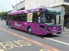 SN16OSL 67103 First Glasgow Airport Express (WesternSMT) Tags: glasgow airport first mmc enviro 2016