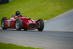 31 (ISP Bruno Laplante) Tags: old red classic 1955 car race vintage one 1 fast 8 ferrari million summit formula legend 31 monttremblant lancia formule d50a