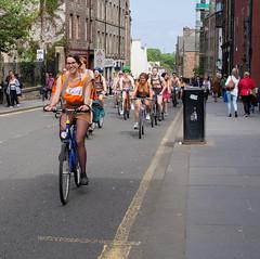 World Naked Bike Ride 2016-241 (KirkmouseMedia) Tags: bicycle edinburgh wnbr cycling