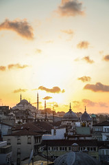 Istanbul Evening 9 (Allison Mickel) Tags: nikon d7000 adobe lightroom edited turkey sunset landscape istanbul