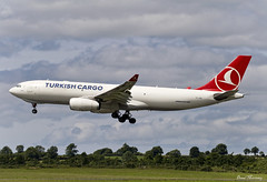 Turkish Cargo A330-200F TC-JDO (birrlad) Tags: shannon snn international airport ireland aircraft aviation airplane airplanes airline airliner airways airlines approach arriving arrival finals landing landed runway airbus a330 a332 a330243f tcjdo turkey turkish cargo freighter freight transport atlanta tk6559 istanbul