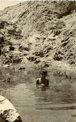 swimming in gorgan (reza fakharpour) Tags: old family blackandwhite monochrome vintage freedom iran iranian iranians   iranbeforetherevolution