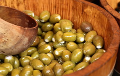 Olives - 12x50x50 (KangaRo) Tags: food 50mm nikon market olives stalbans 50x50x50 50x50x50challenge