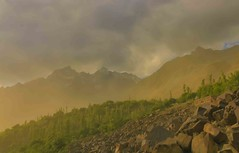 The Dust Storm (Hasankazmi) Tags: gilgit skardu northernareaofpakistan duststrom
