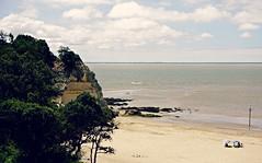 Human vs Wild (royan-tourisme) Tags: royanatlantique meschers wildness ocean estuaire vgtation summer beach