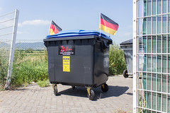 Mercedes Benz_1 (Vladimr Turner) Tags: germany flag nationalism mercedes stealing robbery action artr performance publicart urbanart culturejamming mathieutremblin euro 2016 dusseldorf berlin