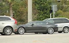 Aston Martin Rapide (RudeDude2140a) Tags: sports car sedan grey martin exotic aston rapide