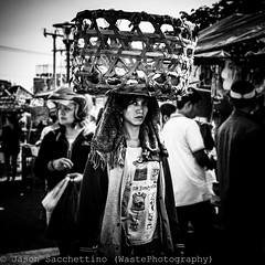 Street of Denpasar (Bali - Indonesia) (Jason WastePhotography) Tags: life street bali girl indonesia real asia market walk carry