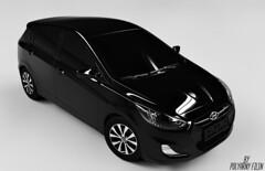 Solaris (Polyarny_Filin) Tags: render solaris huyndai car