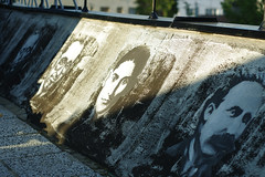 Faces in the evening sun (Zeljko Stjepanovic) Tags: colors graffiti preparations repurpose banjaluka krovfest