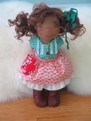 Joy (DOWN UNDER WALDORFS) Tags: downunderwaldorfs handmadedoll naturaltoys popje puppen lalki boneca bambola waldorfinspireddoll waldorfdoll