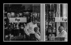 Figs Bar (stonef@ce) Tags: blackwhite street figs bar cleethorpes