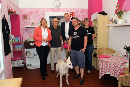 Besuch des Tierheims Oldenburg mit meiner Kollegin Christina Jantz-Herrmann MdB.
