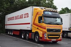 KP63JDU  Bedworth Haulage, Coventry (highlandreiver) Tags: kp63jdu kp63 jdu bedworth haulage coventry volvo truck lorry transport fridge freight gretna scotland scottish