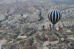 Cappadocia (A Sutanto) Tags: hot air balloon ride balloons aerial view scenic valley goreme turkey cappadocia