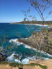 Hell's Gate (helmuta) Tags: alexandriabay blowhole nudebeach sunshinecoast nationalpark ocean beach noosaheads