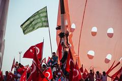 IMG_0573.JPG (esintu) Tags: flag green islam religious rally turkish yenikapi istanbul